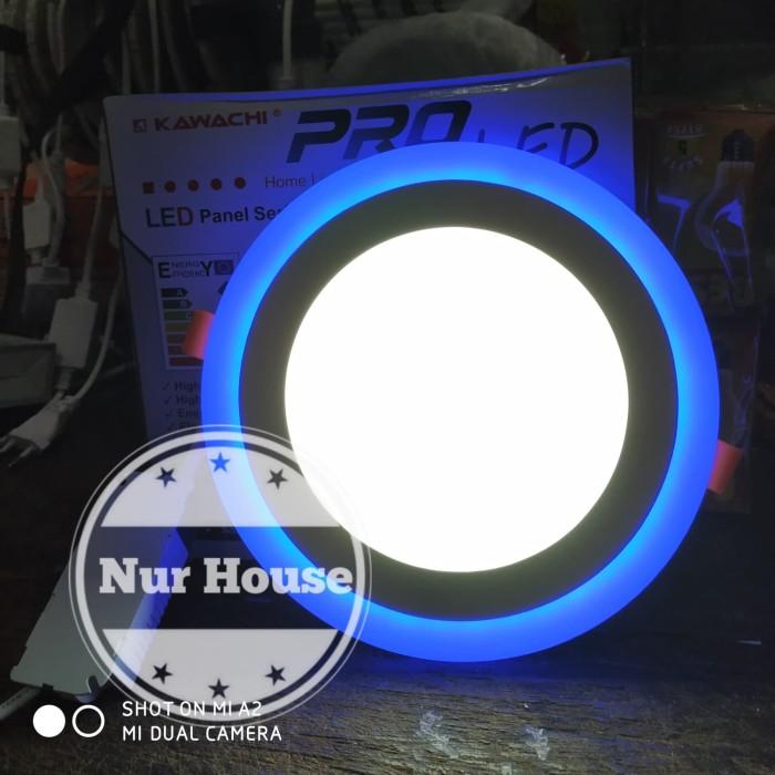 Lampu Downlight Led 2 Warna 16 Watt