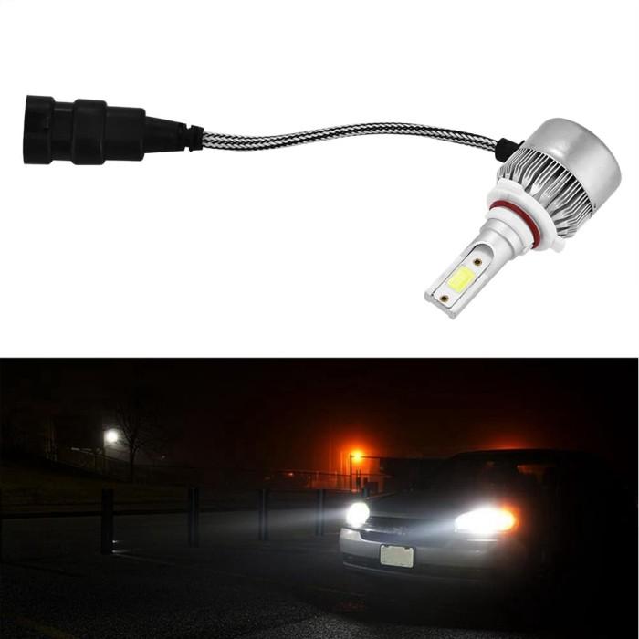 Astonishing Jual 1 Pasang Lampu Kepala Led 36W 6000Lm Untuk Mobil Wiring Digital Resources Instshebarightsorg