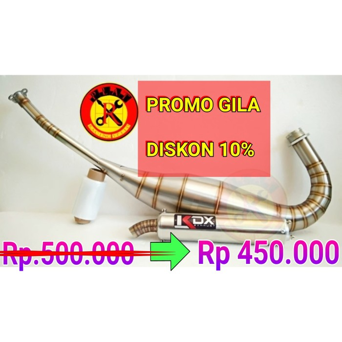 harga Knalpot kdx ninja r rr ss full stanles steel Tokopedia.com