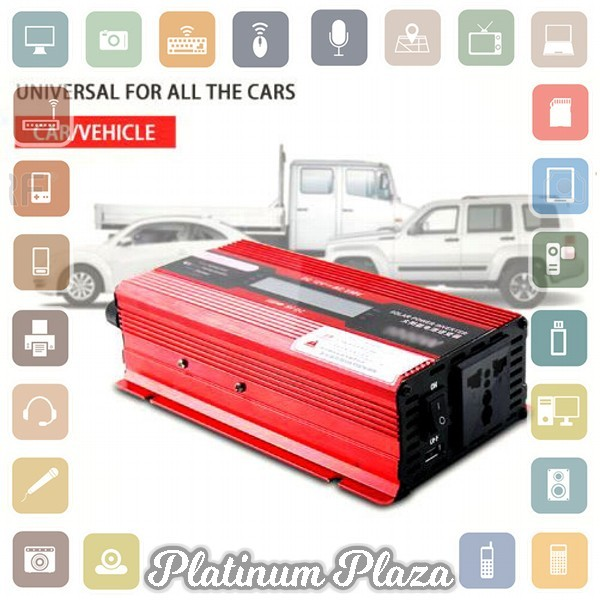 harga Car power inverter dc 12v to ac 220v 1000w with led displa`tkxaqc- red Tokopedia.com
