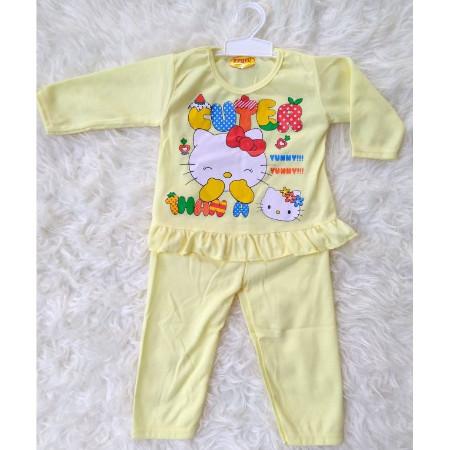 Jual Setelan Piyama   Piyama Bayi   Baju Tidur Anak Bayi Perempuan ... 223320bc16