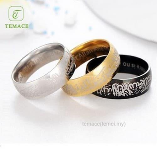 Jual Promo Falice Store Cincin Islami Tauhid Kaligrafi Arab Syahadat Bisa Dki Jakarta Falice Store Tokopedia