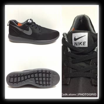 cheap for discount a9788 22f6e Jual Grade Ori Nike Roshe Run two murah warna fullblack sol original -  aldishare | Tokopedia
