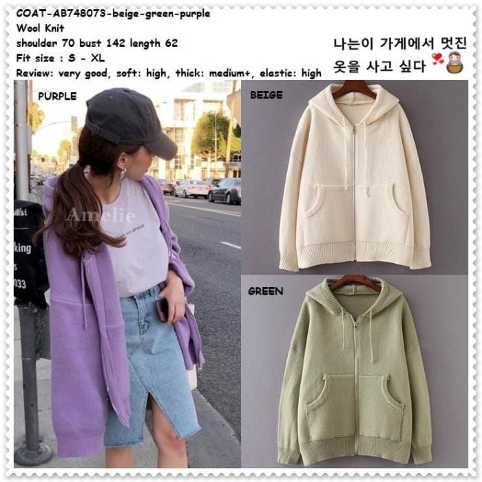 Jual Hoodie Winter Jaket Korea Wanita Sweater Jacket Musim Dingin ... 23ef75853a