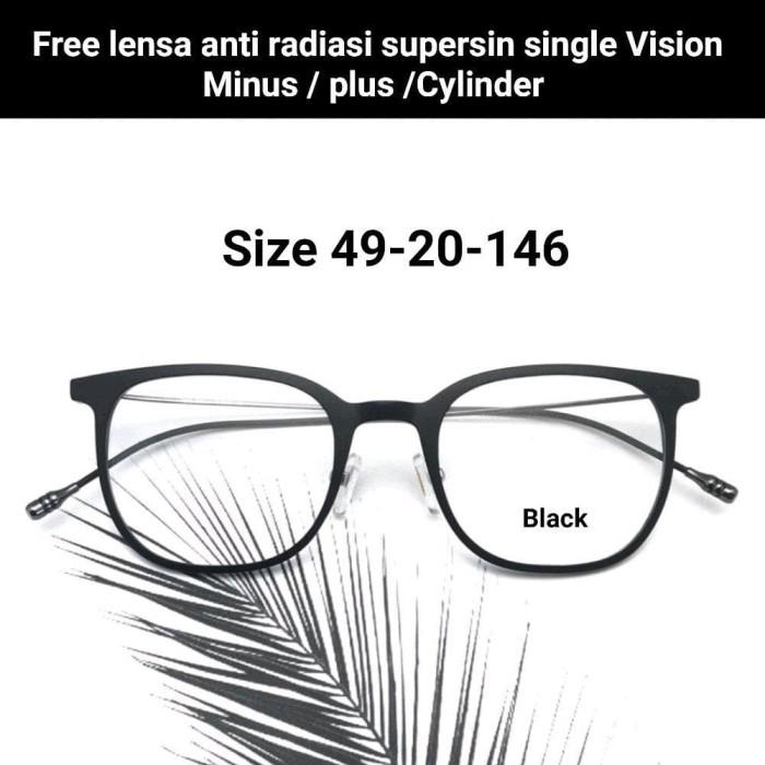 Kacamata Baca Lensa Minus 20 Black - Review Daftar Harga Terbaru ... 460e265fe5
