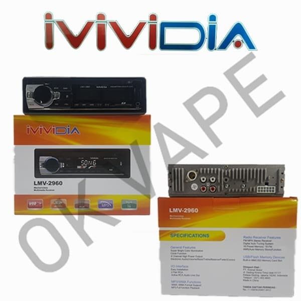 harga Mvidia tape single din head unit radio usb sd card mp3 mobil Tokopedia.com
