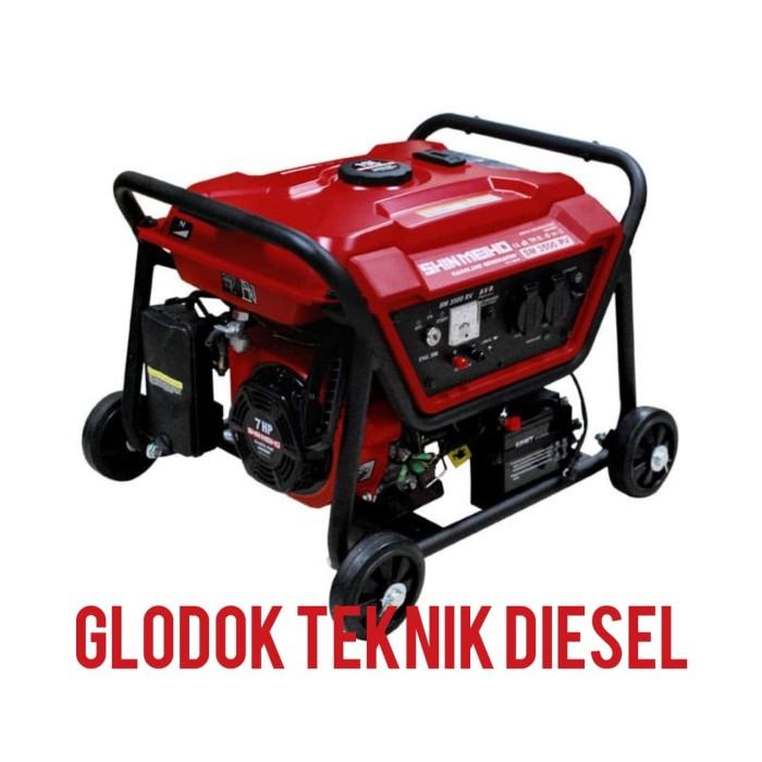 Rv Diesel Generator >> Jual Shin Meiho Genset Bensin 6000 W Watt Gasoline Generator Sm 7500 Rv Kota Tangerang Glodok Diesel Tokopedia
