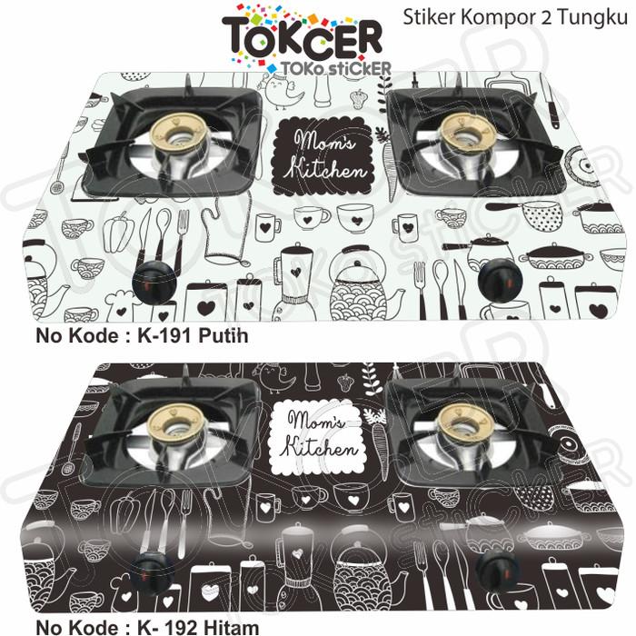 Foto Produk Stiker Kompor 2 Tungku MOM's Kitchen dari TOKCER TOko stiCKER