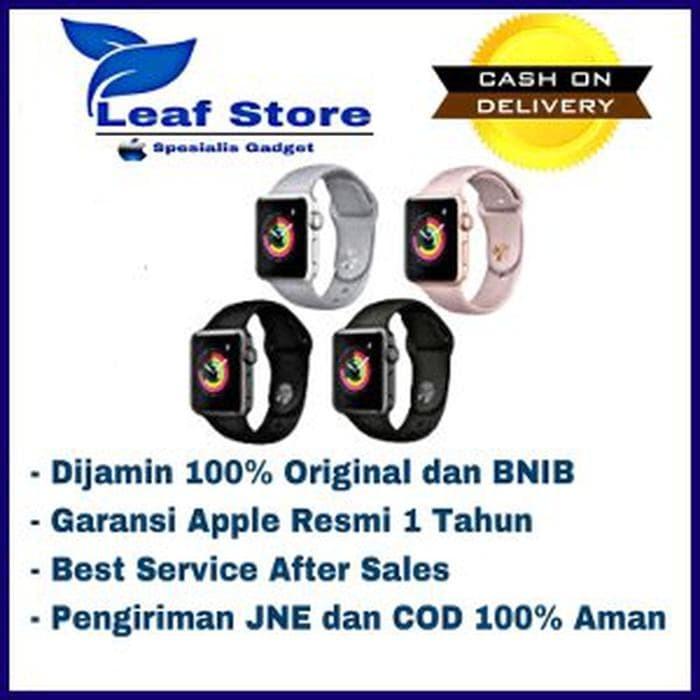 Jual Apple Watch Series 3 Gps Aluminum Rose Gold Sport Band 38mm Bysma586 Jakarta Pusat Tribuana1 Tokopedia