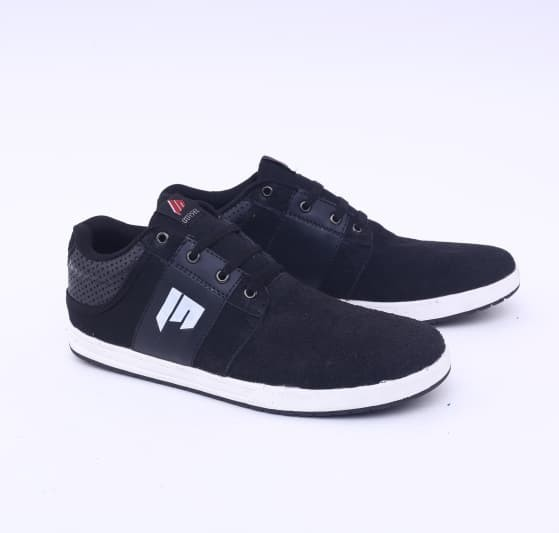 sepatu pria black sneaker sporty G1 sepatu casual cowo - sepatu distro