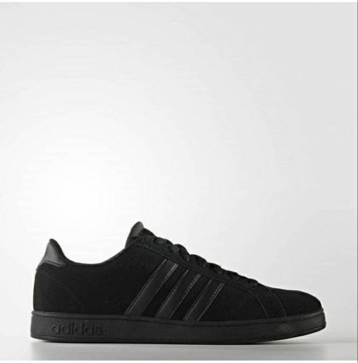 Adidas Neo Baseline Full Black Suede