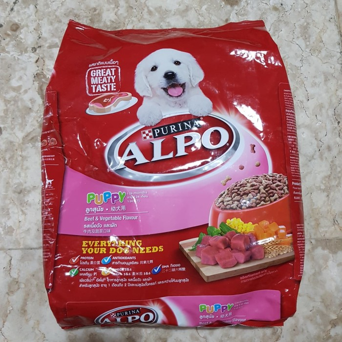Jual Purina Alpo Puppy Beef Vegetable ...