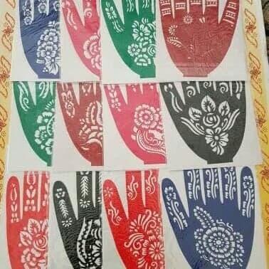 Jual Cetakan Henna Tangan Cantik Henna India Arab Oleh Oleh Haji Dn