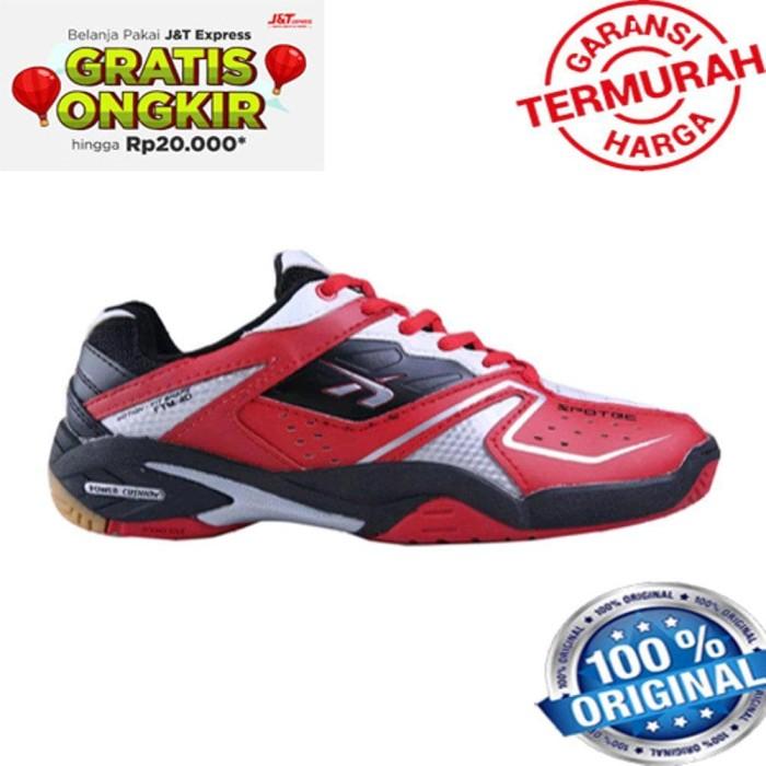 Terlaris Sepatu Badminton Spotec Double Hit Bulutangkis Terlaris Best 1e2e319e70