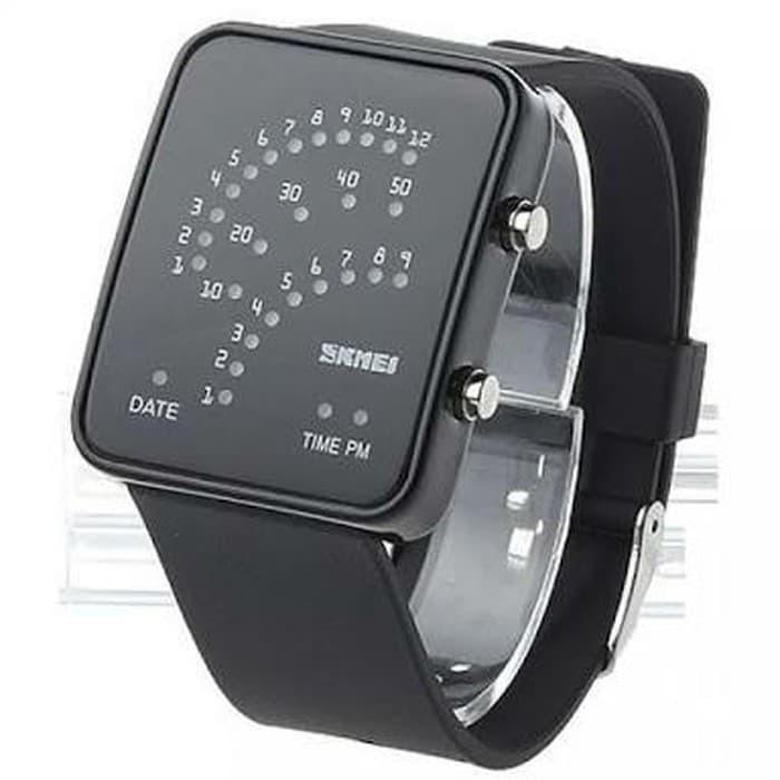Jam tangan led trendy skmei