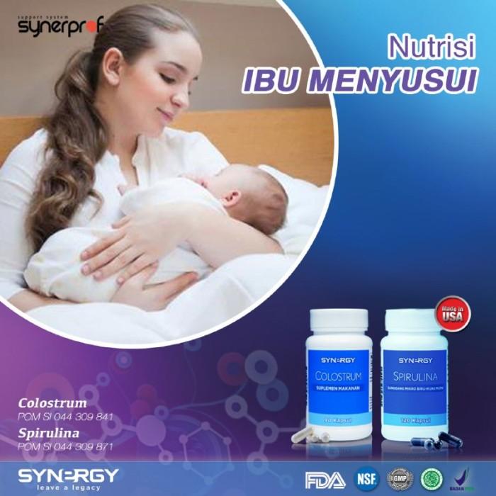 Jual Vitamin Ibu Menyusui Agar Bayi Cerdas Spirulina Colostrum