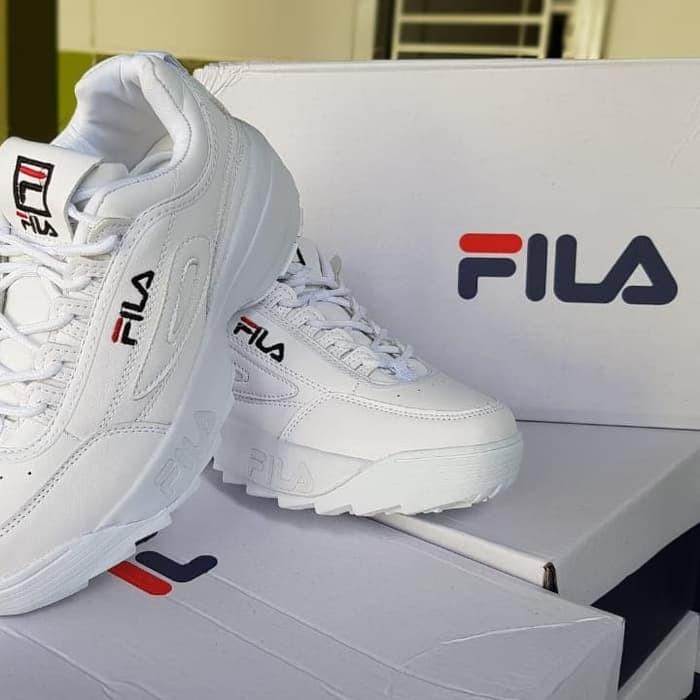 MC Terbaru Sepatu wanita sneakers Sepatu Fila Disruptor II Sepatu Imp 808deacf69