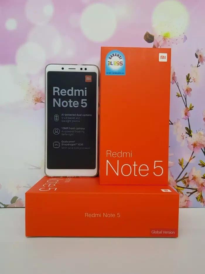 Jual Hp Xiaomi Redmi Note 5 Pro Xiomi Mi 5 Pro Ai 4 64gb Black Gold Kalala Phone Tokopedia