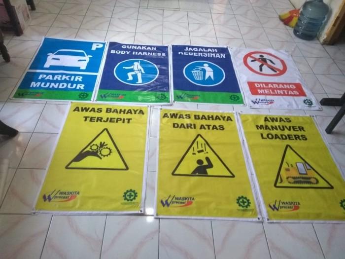 Jual Rambu K3 Konstruksi Keselamatan Kerja Safety Sign Flexy 280gsm Kota Semarang Cv Hm Advertising Tokopedia