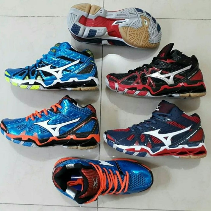 Jual Sepatu Mizuno Wave Tornado 9 Mid Premium Quality - 33 Sport ... 72d00ff20e