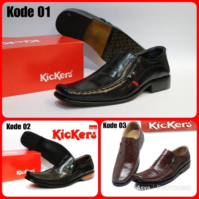 ... harga Sepatu formal kerja pesta pria kickers pantofel kulit asli  Tokopedia.com 4d24ff96c3