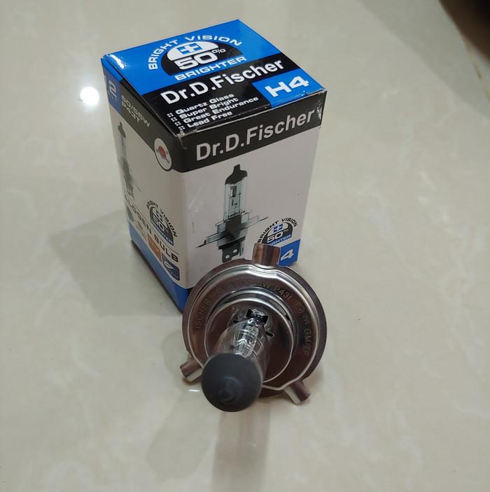 harga Lampu depan h4 vixion cb150r cbr dr fischer germany 50%+ekstrabright Tokopedia.com