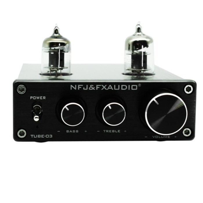 harga Nfj & fx-audio hifi buffer 6j1 vacuum tube-03 preamp with treble bass Tokopedia.com