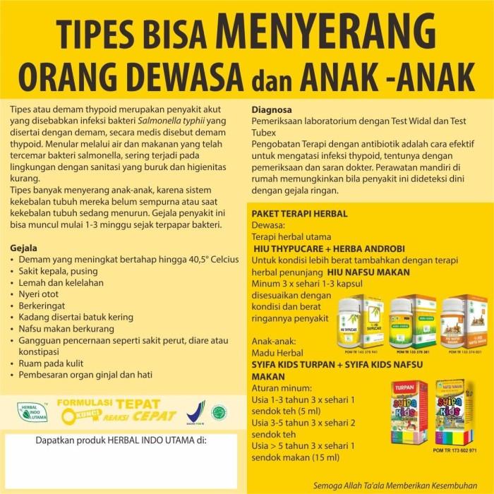Foto Produk Paket Terapi Tipes (Anak) : Syifa Kids Turpan + Syifa Kids Nafsu Makan dari Mulia Shop