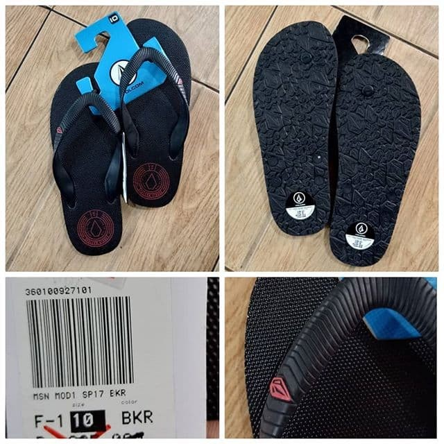 Jual sandal volcom original 52 - Kota