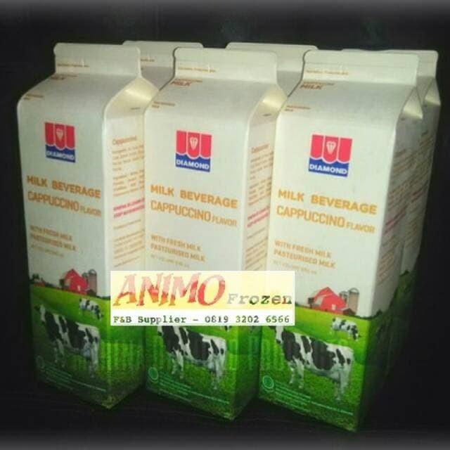 Jual Promo Fresh Milk Susu Segar Diamond Cappuccino 1 Karton