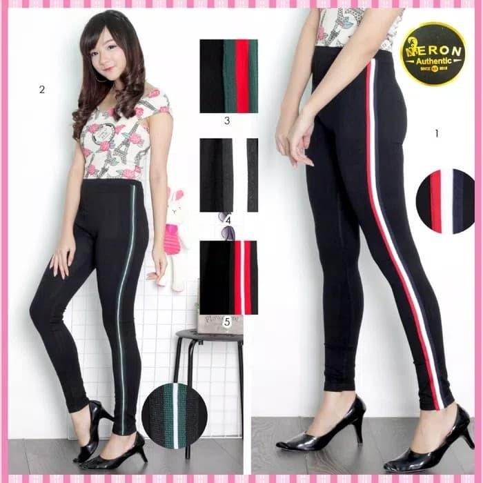 Jual Celana Legging Leging Strip 5 Jumbo Bigsize Jogging Joging Olahraga Kota Bandung Sarung Tenun Bandung Tokopedia