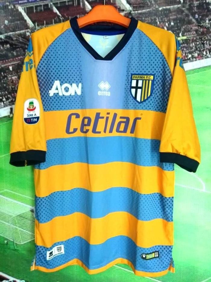 829adfae2bf Dijual Jersey Bola Parma Home 18/19 Di Jakarta - Bleauhostore