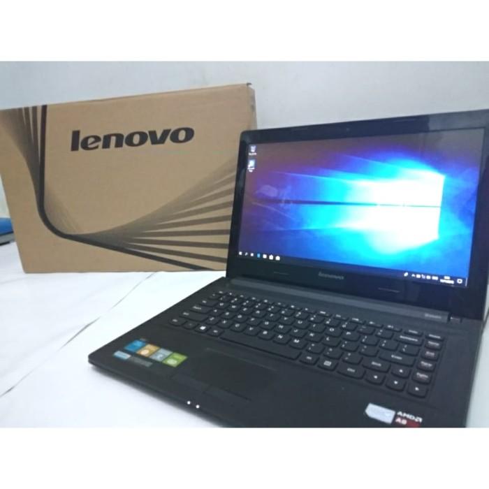 Jual Laptop Lenovo G40-45 AMD A8-6410 APU with Radeon R5 2 00 Ghz, 4 GB RAM  - Kota Tangerang - wellplayed   Tokopedia