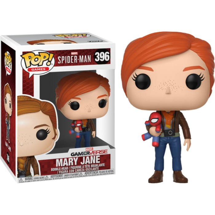 Jual Funko Pop Marvel Spider Man Ps4 Mary Jane With Spiderman