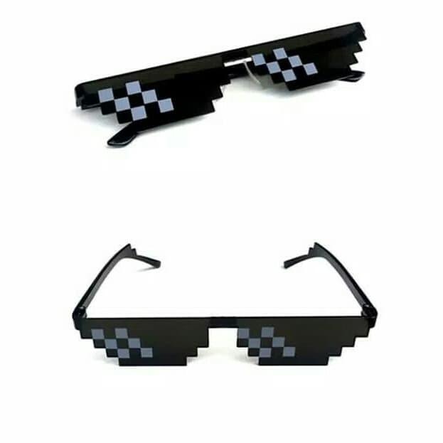 Kacamata Sunglasses Thug Life 8bit