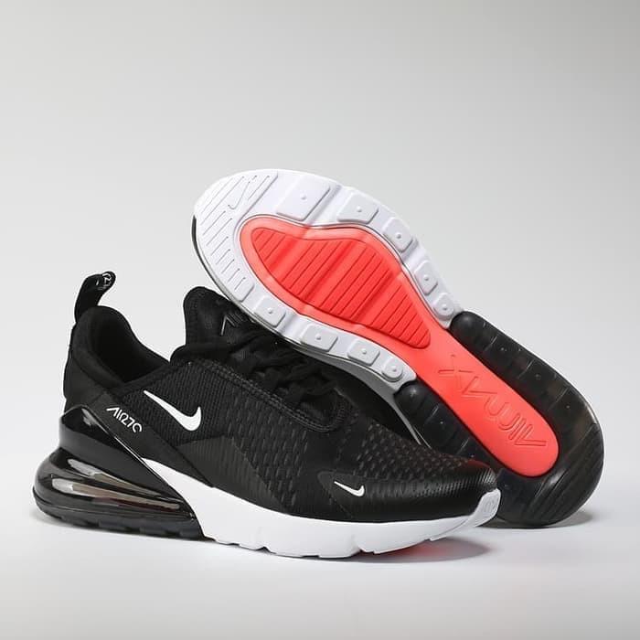 quality design bdac3 0af3d Jual Nike Air Max 270 Black White High Premium Original - Lidia Collectionn    Tokopedia