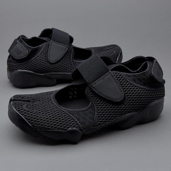 Jual Nike Ninja Air Rift Triple Black High Premium Original - Ardi ... aa819a0014