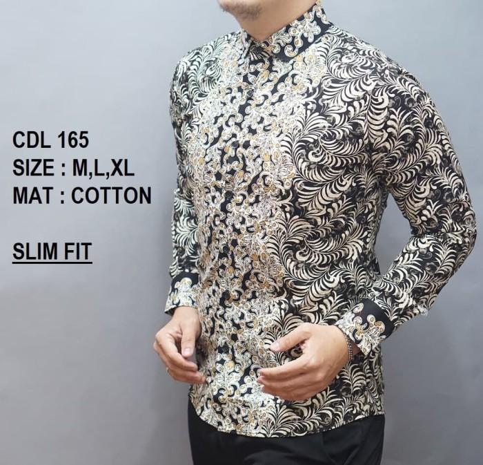 Jual Kemeja Batik Pria Fashion Kekinian Model Slimfit Lengan Panjang 215 Dki Jakarta Heverman Store Tokopedia
