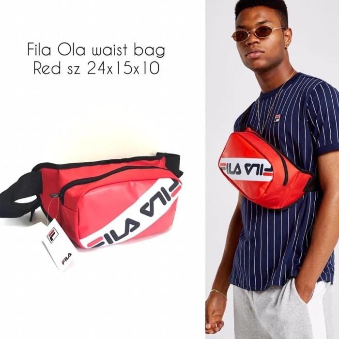 d684a10e11ab Jual FILA OLA Waist Bag Red - Kota Administrasi Jakarta Barat - FW ...