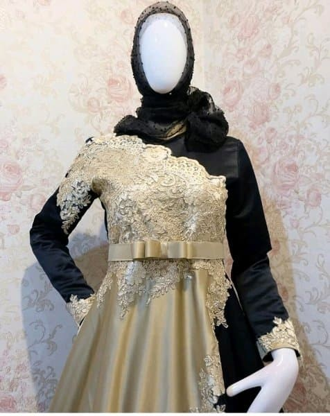 Jual Gaun Pengantin Syari Gaun Pengantin Muslimah Modern Baju Gaun Kab Sleman Boutiq Berlian Tokopedia