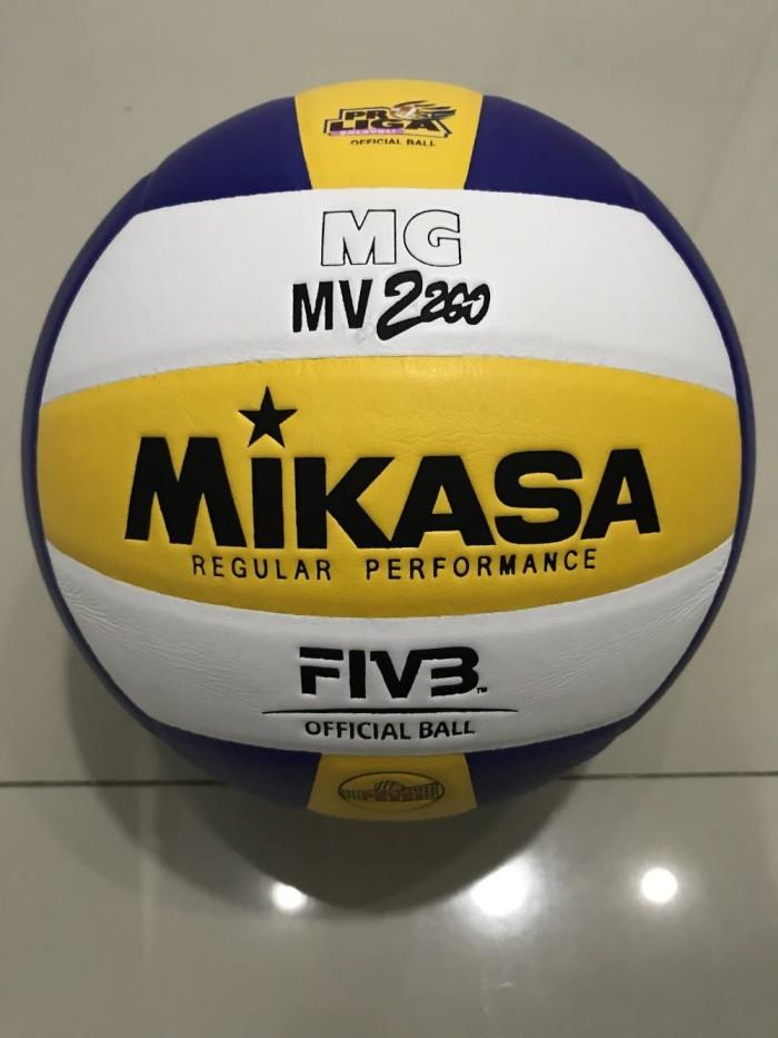 jual bola voli volley mikasa mv original murah kab bandung