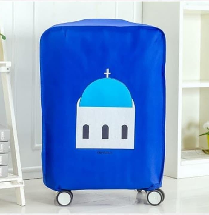 Tas Koper Luggage Cover Fun Traveler Seri Sarung Penutup Pelindung Tr