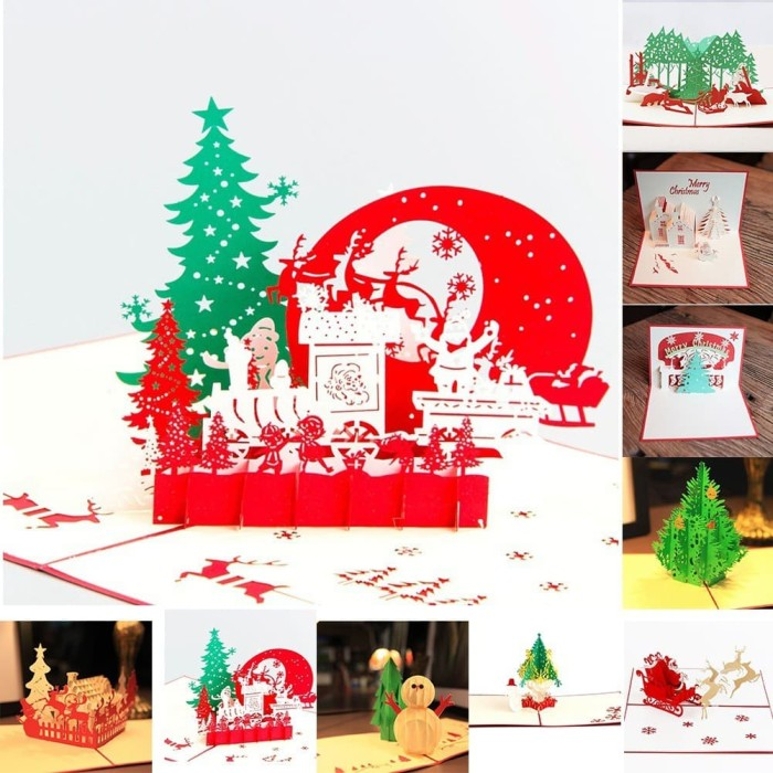 Paling Keren Contoh Desain Kartu Natal Pop Up - Ide Buat Kamu