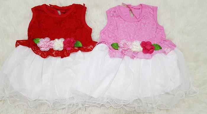 harga Baju dress anak bayi perempuan baju pesta kondangan brokat tutu Tokopedia.com