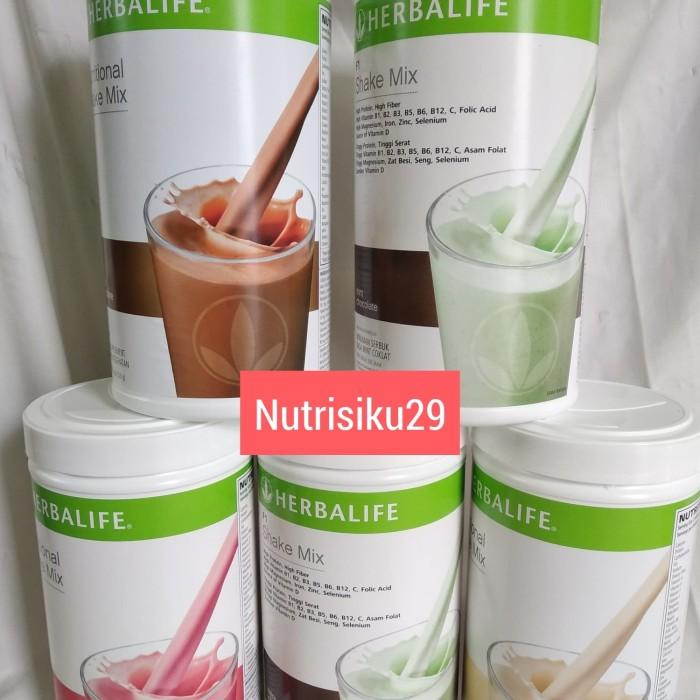 Jual Diskon 25 Herbalife Shake Mix Vanila Coklat Berry Kota Depok Nutrisiku29 Tokopedia