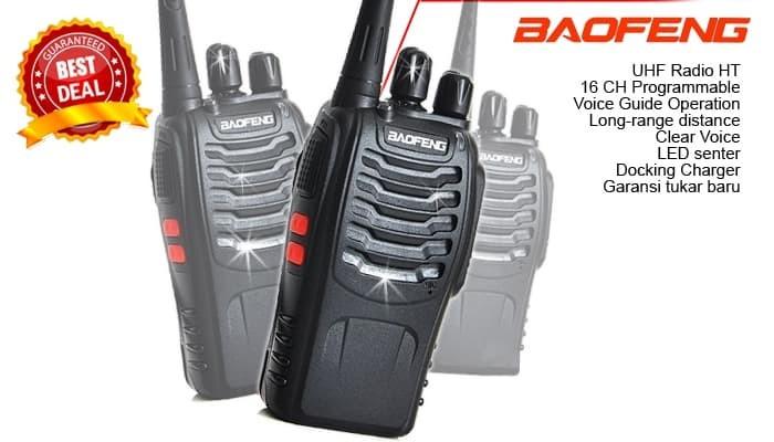 Jual HT WALKIE TALKIE TWO-WAY RADIO - JARAK 500 S/D 5000 METER - DKI  Jakarta - AUVICOMM | Tokopedia