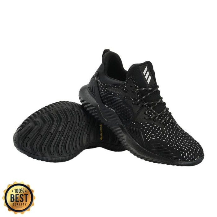 243f54d13 Jual Original Adidas Alphabounce Beyond RFL Black AQ0629 - Kota ...
