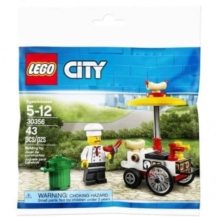 NEW LEGO SEALED POLYBAG CITY 30356 Hot Dog Stand