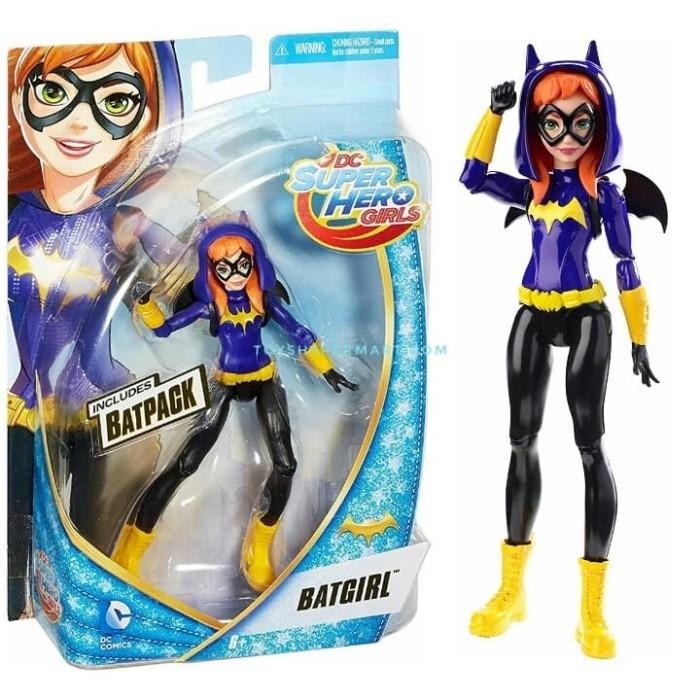 "DC Super Hero Girls Batgirl 6/"" Action Figure By Mattel"