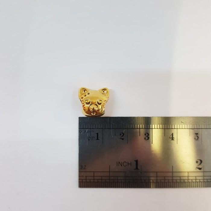 hello kitty warna emas kilap untuk gelang anak